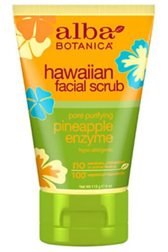 Alba Botanica Natural Hawaiian Pore Purifying Pineapple Enzyme Facial Scrub - Alba Botanica скраб для лица с экстрактом ананаса