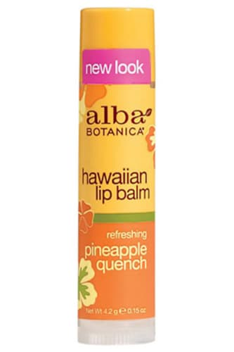 Alba Botanica Natural Hawaiian Refreshing Pineapple Quench Lip Balm - Alba Botanica бальзам для губ с экстрактом ананаса