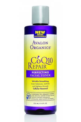 Avalon Organics CoQ10 Repair Perfecting Facial Toner - Avalon Organics тоник энергетический для лица с Q10